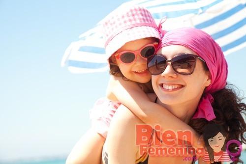 De vacaciones en la playa con los niños
