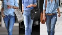 Camisa jean femenina: cómo adoptar la prenda a su look sin errar