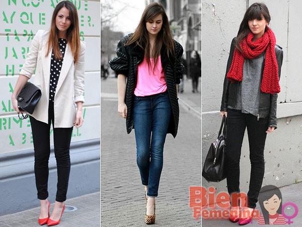 Scarpin y Jeans